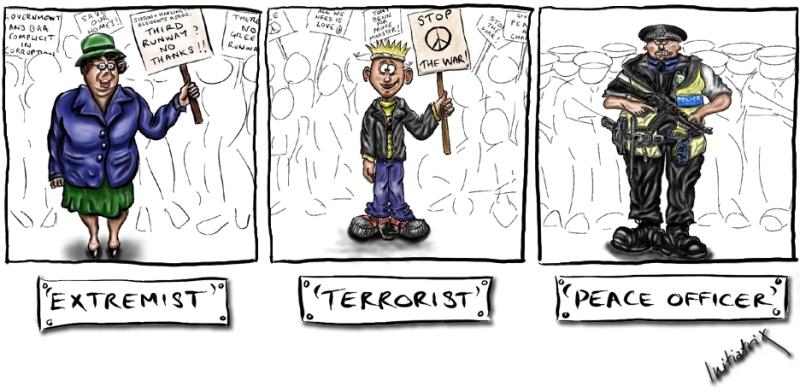 Extremist Terrorist Peacekeeper