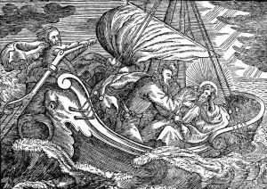 http://www.pitts.emory.edu/dia/detail.cfm?ID=11426 Author: Herberger, Valerius, 1562-1627. Image Title: Jesus Sleeps in Boat Scripture Reference: Matthew 8 Description: Jesus sleeps in the boat during a storm. Click here for additional images available from this book.