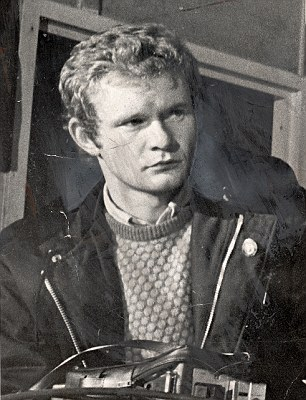 Martin McGuinness in June 1972 when he was leader of the Provis